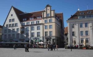 Gamla Stan i Estlands huvudstad Tallinn är ett av Unescos världsarv.
