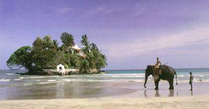 En jorden-runt-resa med Star Alliance kan ta dig till Sri Lankas enda privatägda ö – Taprobane.