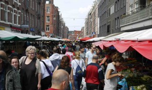 Tenkate Markt i Amsterdam.