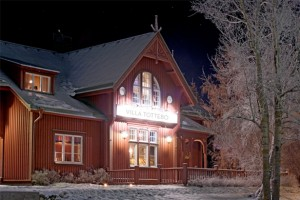 Villa Tottebo i Åre som har en bra restaurang.