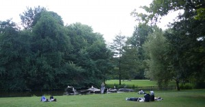 Vondelpark i Amsterdam.
