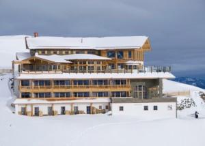 Hotell på 2 500 meters höjd.