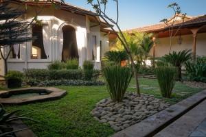 Trädgården på Calle Consulado.